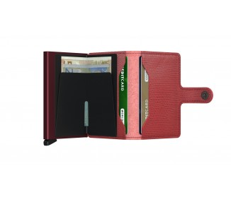 MINIWALLET SECRID RANGO RED-BORDEAUX