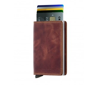 SLIMWALLET SECRID VINTAGE BROWN