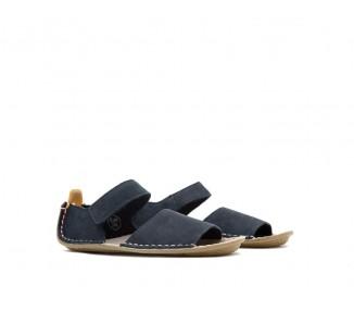 Vivobarefoot ABABA K Sandal Leather Navy