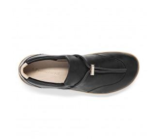 Vivobarefoot RA SLIP ON L Black Leather